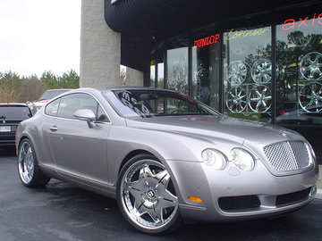 Bentley Continental GT with 22in Autocouture Agress Wheels