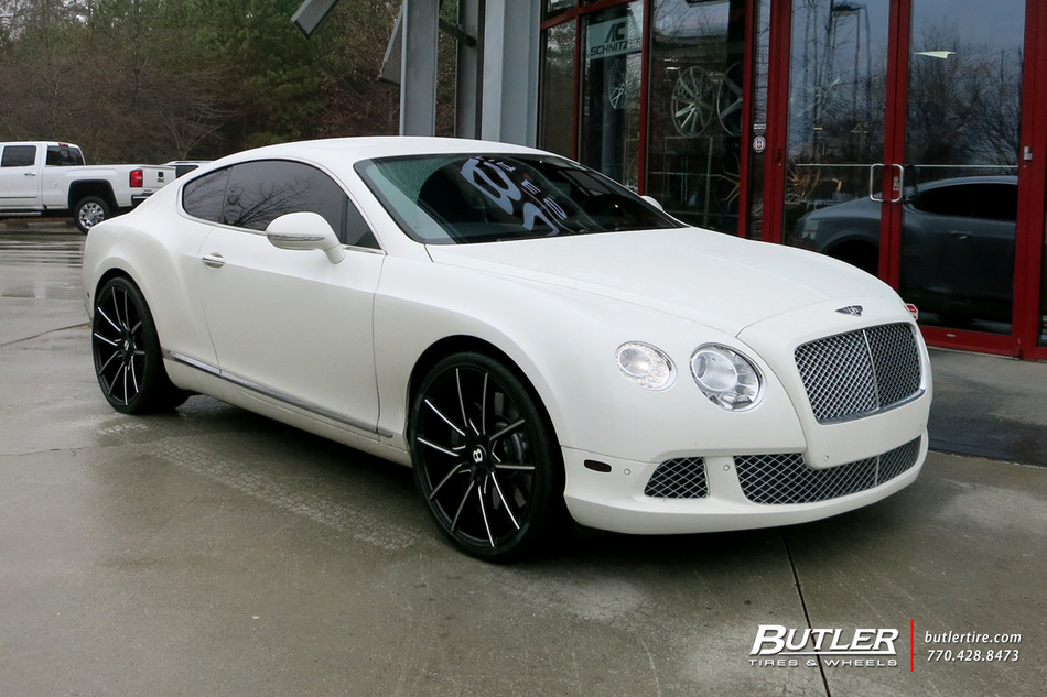 Bentley Continental Gt With 22in Lexani Gravity Wheels