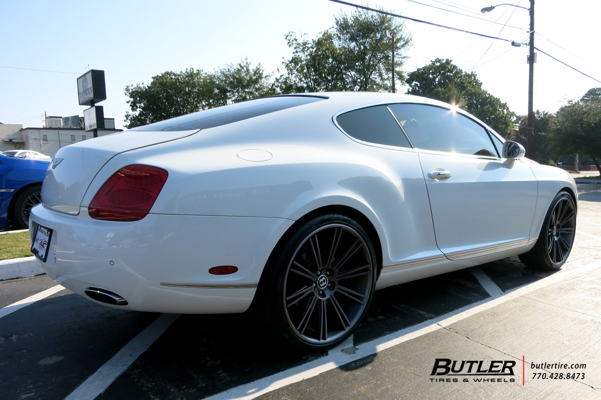 Bentley Continental GT with 22in Niche Laguna Wheels