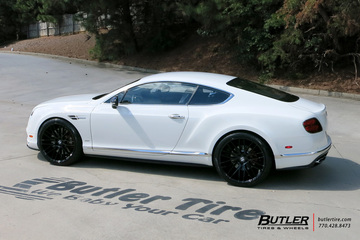 Bentley Continental GT with 22in Savini BM13 Wheels
