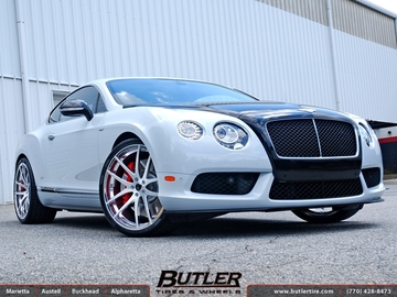 Bentley Continental GT with 22in Savini SV40 Wheels