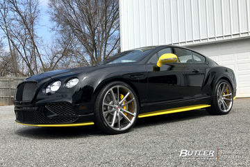 Bentley Continental GT with 22in Vossen CG-203 Wheels