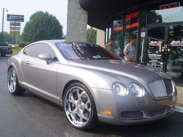 Bentley Continental GT-C with 22in Maya DTV Wheels