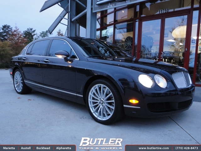 Bentley Flying Spur with 20in TSW Mallory Wheels
