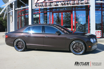 Bentley Flying Spur with 22in Avant Garde F110 Wheels