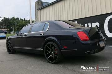 Bentley Flying Spur with 22in Savini BM14 Wheels