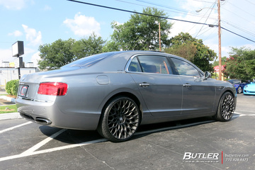 Bentley Flying Spur with 22in TSW Oslo Wheels