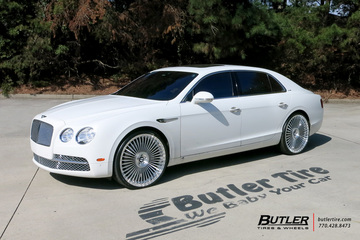Bentley Flying Spur with 24in Avant Garde AGL45 Wheels