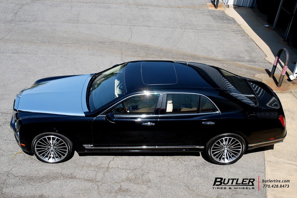 Bentley Mulsanne with 22in Lexani LF722 Wheels