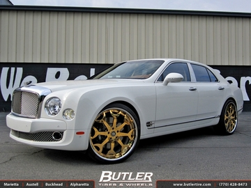 Bentley Mulsanne with 24in Forgiato Capolavaro Wheels