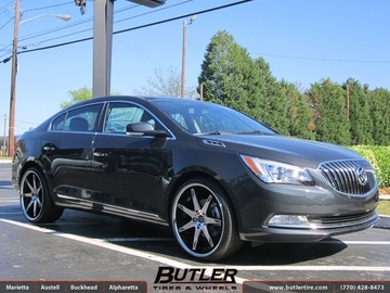Buick Lacrosse with 20in Lexani R-Fourteen Wheels
