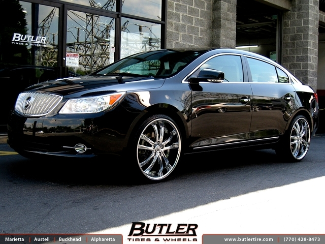 Buick Lacrosse with 22in Lexani LSS55 Wheels