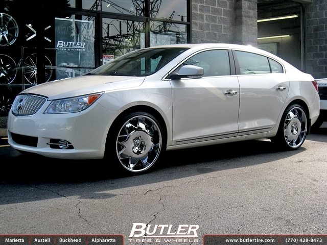 Buick Lacrosse With 22in Lexani Lx2 Wheels Exclusively