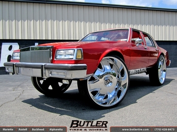 Buick LeSabre with 32in Dub Bandito Wheels