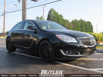 Buick Regal with 20in TSW Amaroo Wheels