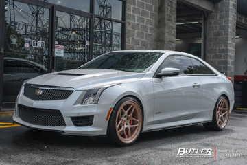 Cadillac ATS-V with 20in Vossen LC-104 Wheels
