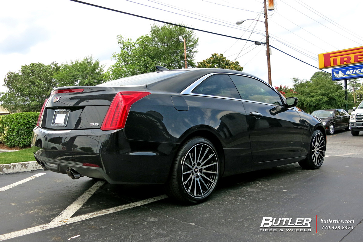 Cadillac ATS with 18in TSW Chicane Wheels