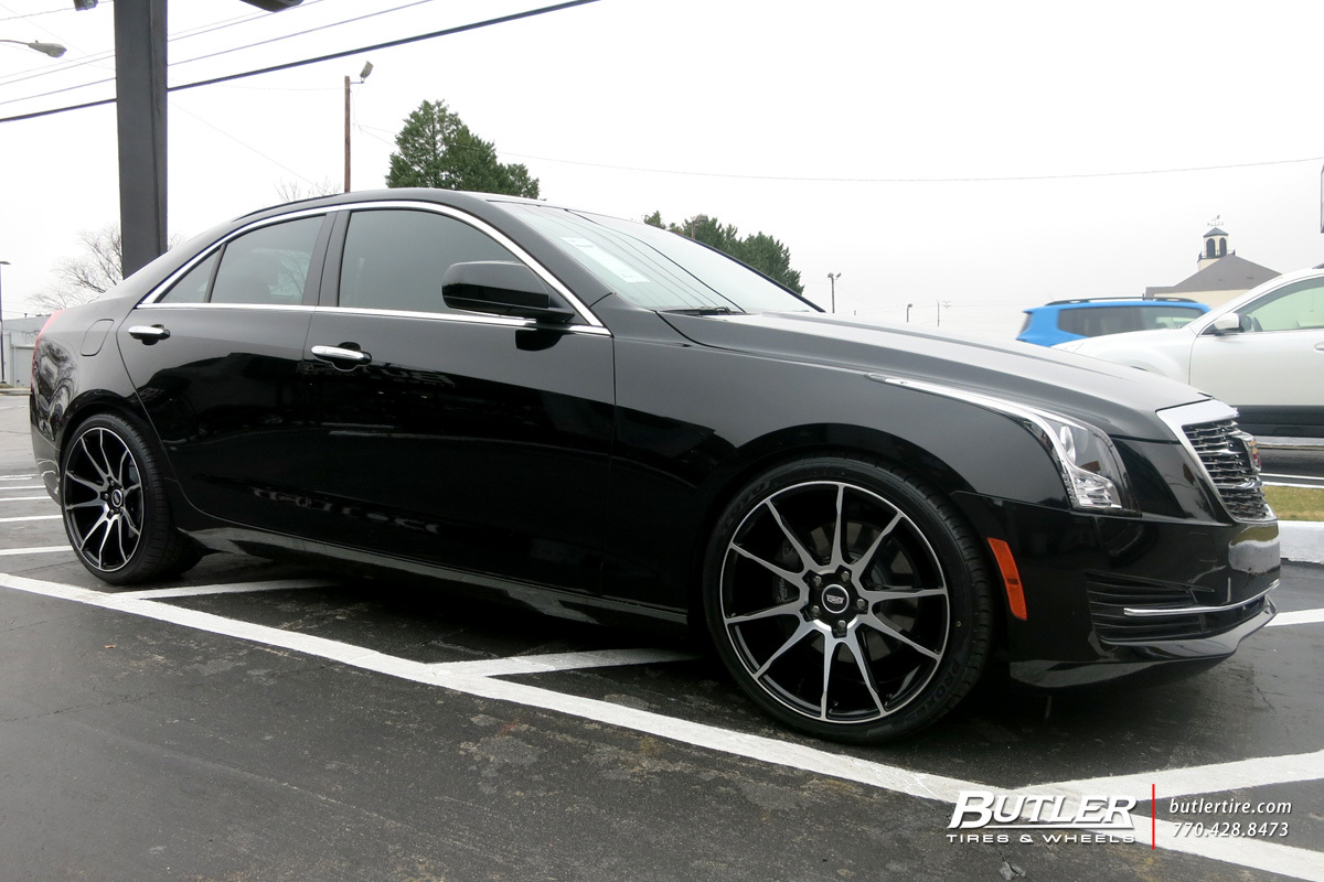 Cadillac ATS with 19in Savini BM12 Wheels