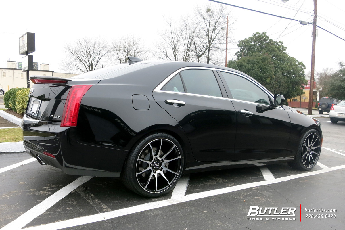 Cadillac Ats With 19in Savini Bm12 Wheels Exclusively From