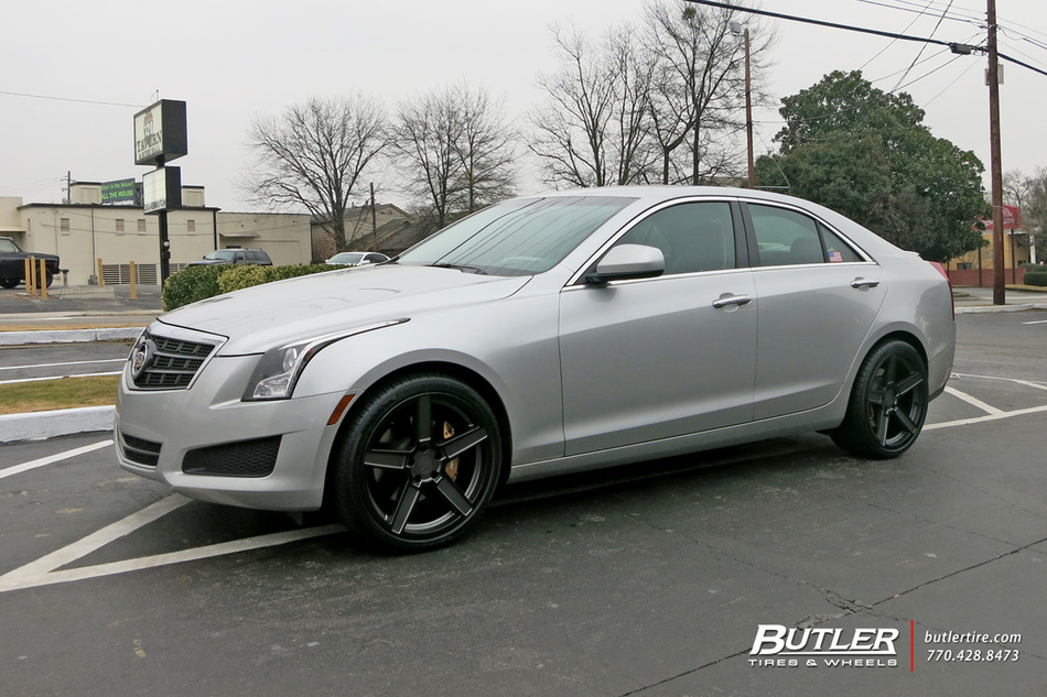Cadillac Ats With 19in Tsw Ascent Wheels Exclusively From