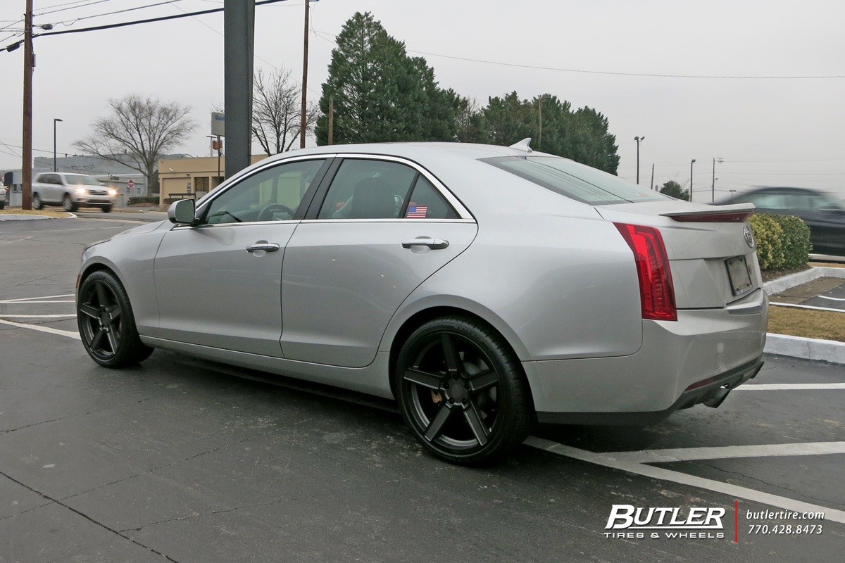 Cadillac ATS with 19in TSW Ascent Wheels