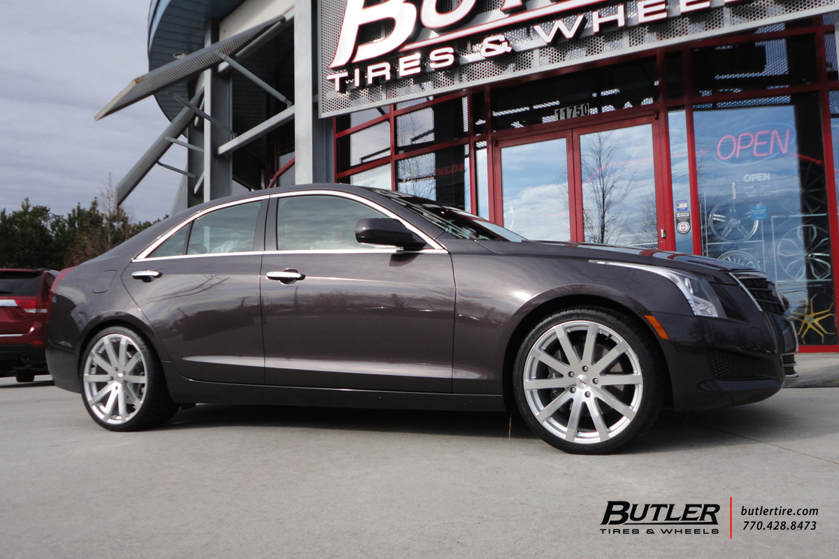 Cadillac ATS with 19in TSW Brooklands Wheels
