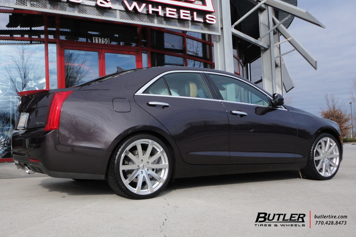 Cadillac Ats With 19in Tsw Brooklands Wheels Exclusively