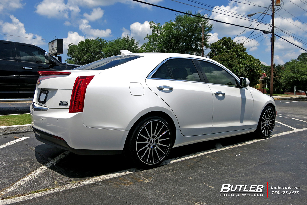 Cadillac ATS with 19in TSW Chicane Wheels