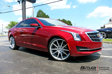 Cadillac ATS with 20in Savini BM12 Wheels