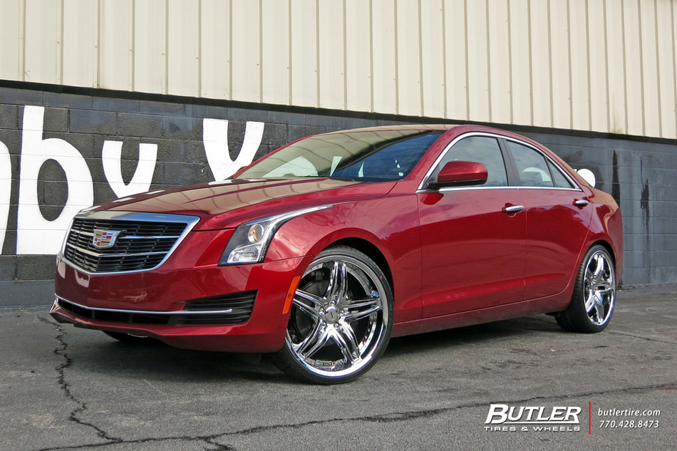 Cadillac ATS with 20in Status Haze Wheels exclusively from ...