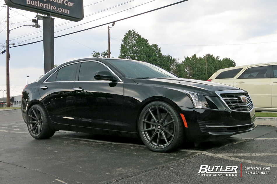 Cadillac ATS with 20in TSW Bathurst Wheels exclusively ...