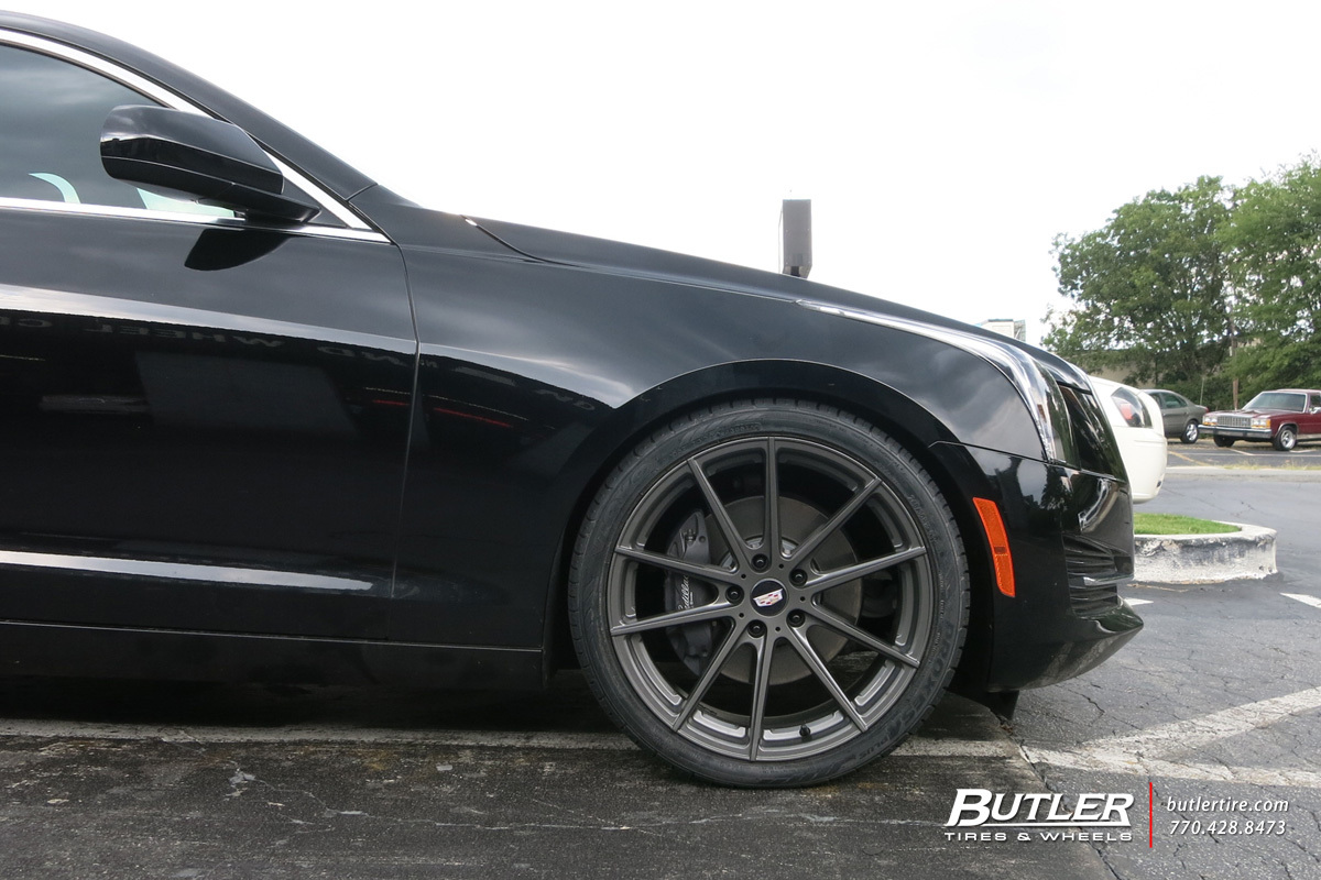 Cadillac ATS with 20in TSW Bathurst Wheels