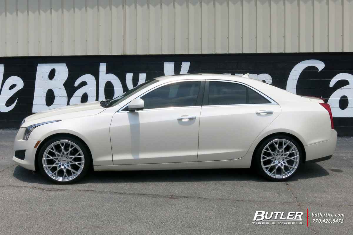 Cadillac ATS with 20in TSW Sebring Wheels
