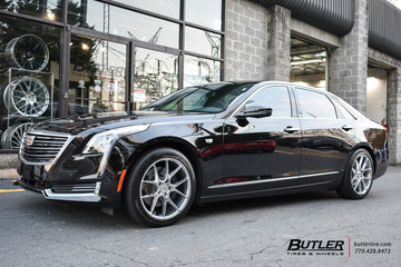 Cadillac CT6 with 19in Savini BM14 Wheels