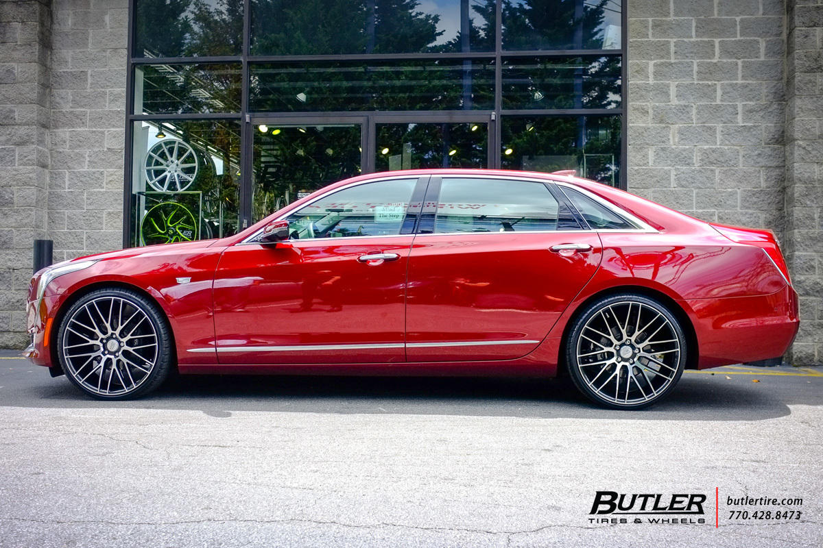 Cadillac CT6 with 22in Savini BM13 Wheels exclusively from ...