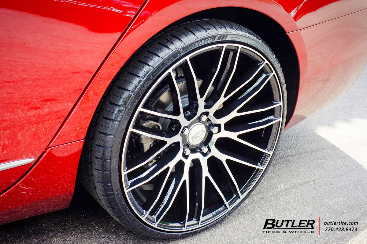 Bmw Rims 22 Inch >> Cadillac CT6 with 22in Savini BM13 Wheels exclusively from Butler Tires and Wheels in Atlanta ...