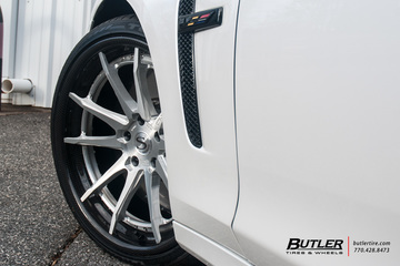 Cadillac CTS-V with 20in Savini BM12-L Wheels