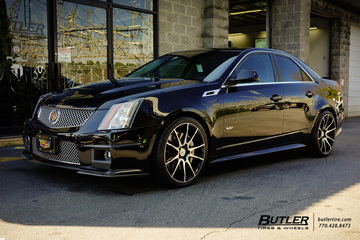Cadillac CTS-V with 20in Savini BM12 Wheels
