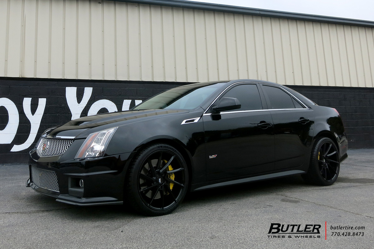 Cadillac CTS-V with 20in Savini BM15 Wheels