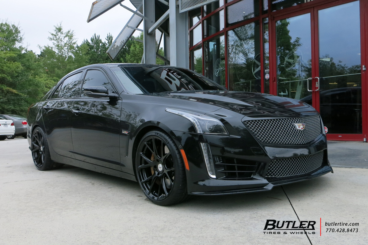 Cadillac Cts V With 20in Vossen Vfs6 Wheels Exclusively