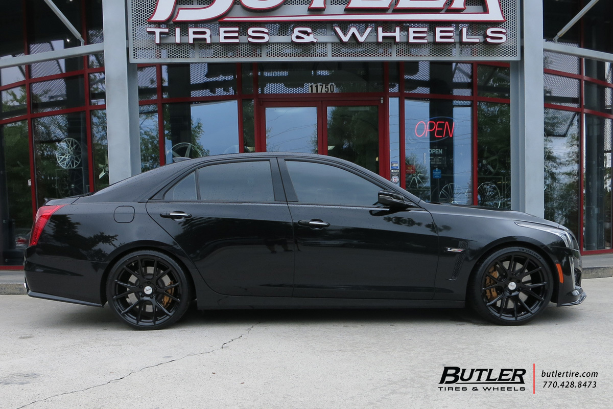 Cadillac CTS-V with 20in Vossen VFS6 Wheels