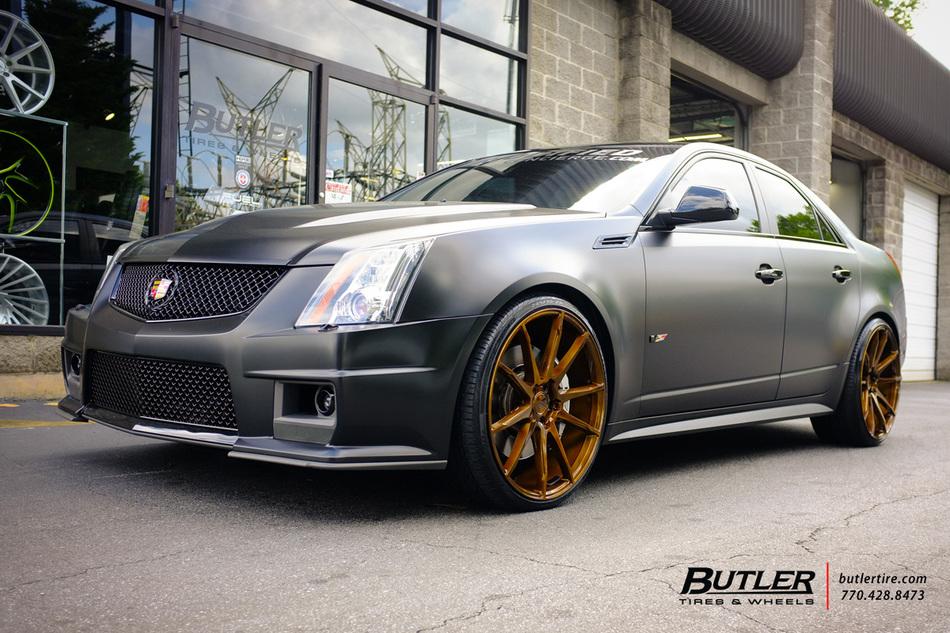 Cadillac Cts V With In Savini Bm Wheels Large