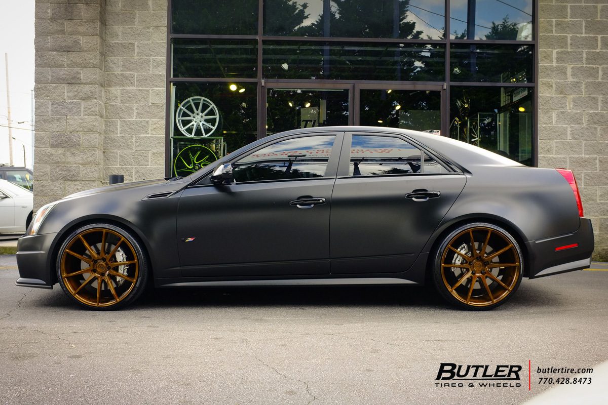 Cadillac Cts V With 22in Savini Bm12 Wheels Exclusively