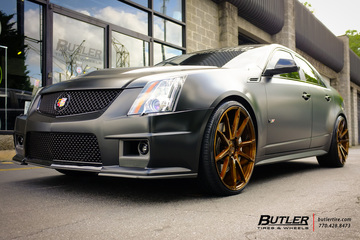 Cadillac CTS-V with 22in Savini BM12 Wheels