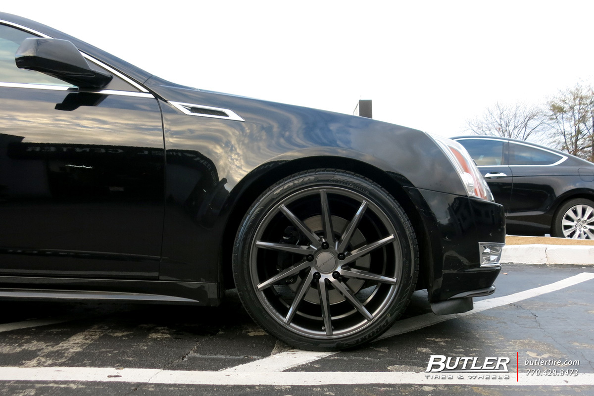 Cadillac CTS-V Coupe with 20in Vossen CVT Wheels