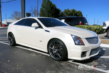 Cadillac CTS-V Coupe with 20in Vossen VFS6 Wheels