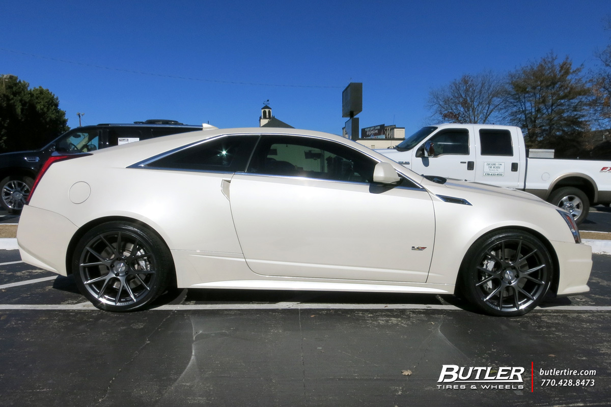 Car Tire Rims >> Cadillac CTS-V Coupe with 20in Vossen VFS6 Wheels exclusively from Butler Tires and Wheels in ...