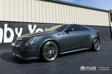 Cadillac CTS-V Coupe with 20in Vossen VWS2 Wheels