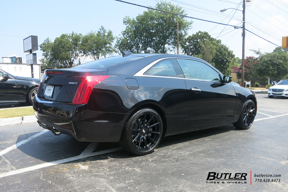 Cadillac CTS with 18in TSW Clypse Wheels