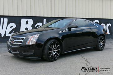 Cadillac CTS with 20in Lexani CSS15 Wheels